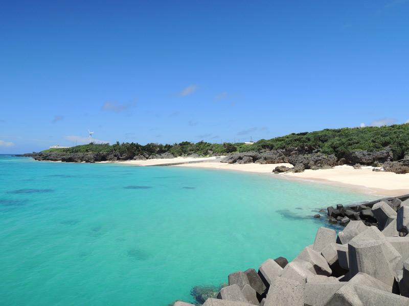 与論島 プライベートビーチ その1 赤崎海岸近く
