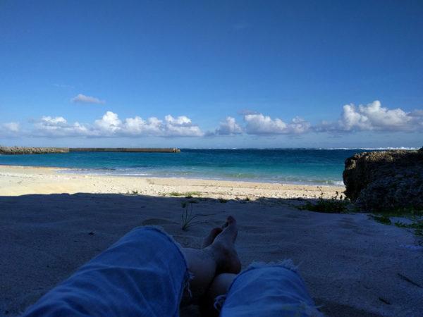 与論島旅行のコンセプトは「のんびり」