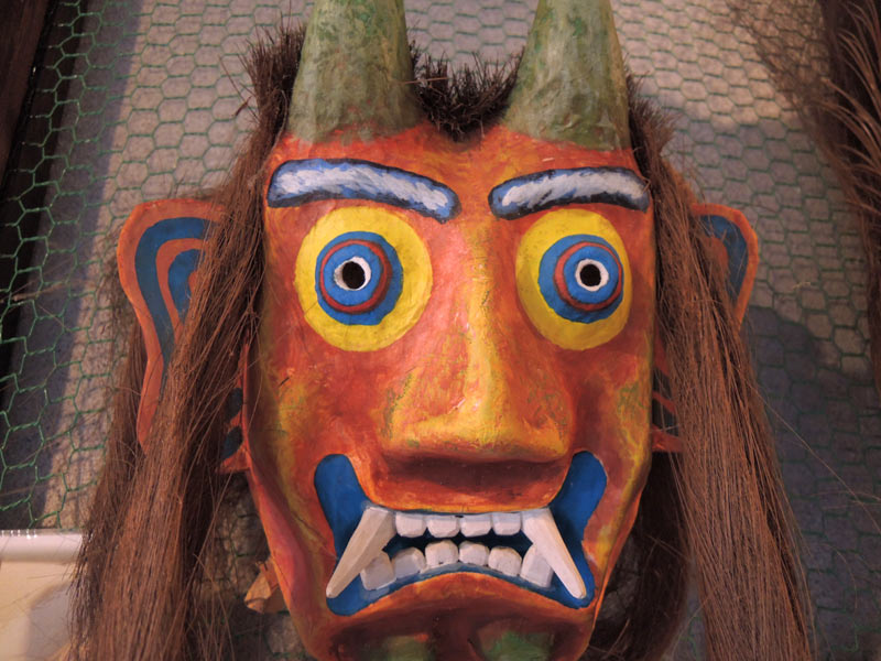 与論島の歴史、自然、芸能、風俗等の展示物