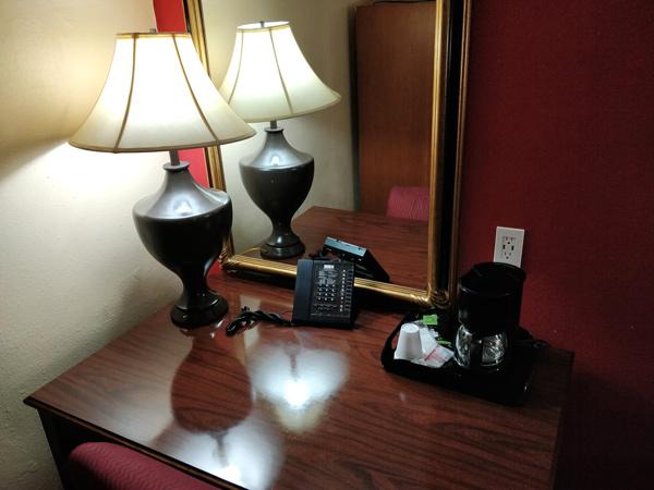 リッジクレストホテルの設備