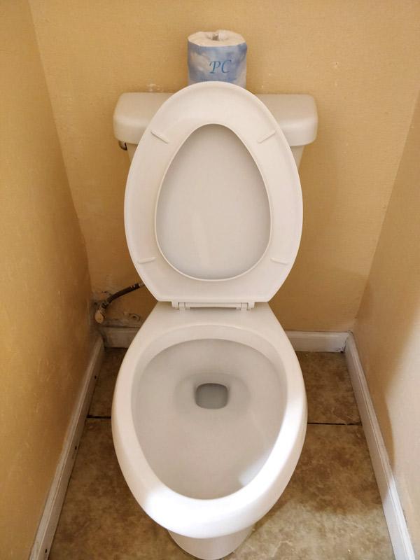 リッジクレストホテルのトイレ