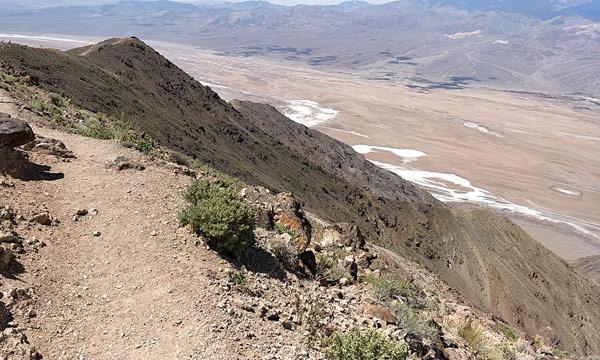 ダンツビューの注意点:崖からの落下・転落に注意