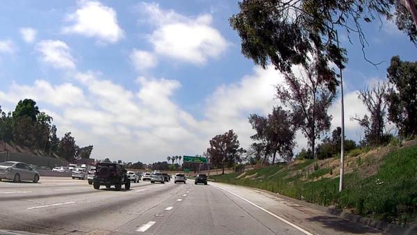 ロサンゼルスのフリーウェイ