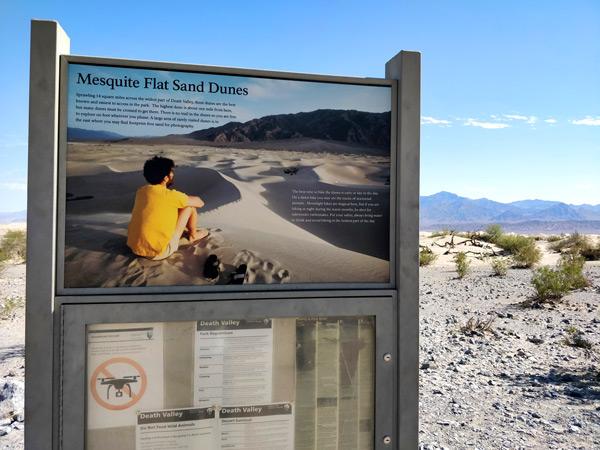 メスキートフラット砂丘の基本情報