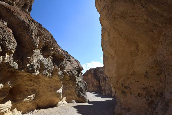 ゴールデンキャニオントレイル(Golden Canyon Trail) の見どころ