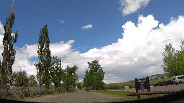 13:50~14:30 移動 モノ湖(サウストゥファ)→モノ湖(ブラックポイント)