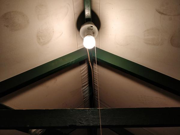 カリービレッジの室内灯