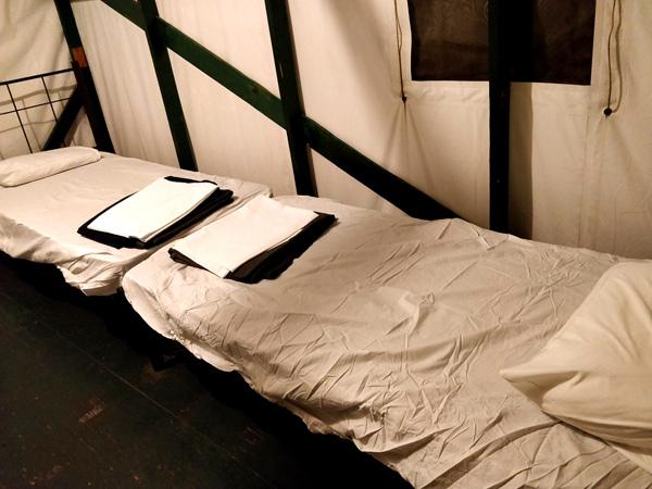 カリービレッジのベッド
