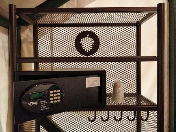 カリービレッジのセキュリティボックス