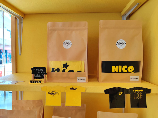 COFFEE STAND 和-nico-は、グッズが豊富