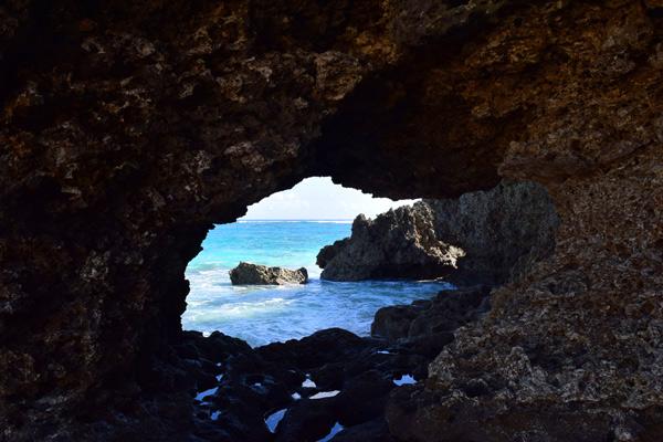 タティダラビーチのタイムトンネル