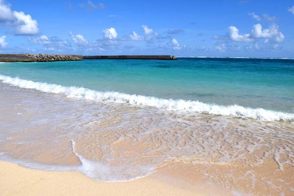 たなしん(タナブロ) in 与論島【ビーチへ、ビーチで亀探し】