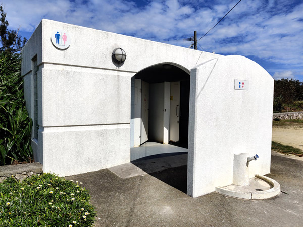 百合ヶ浜のトイレ