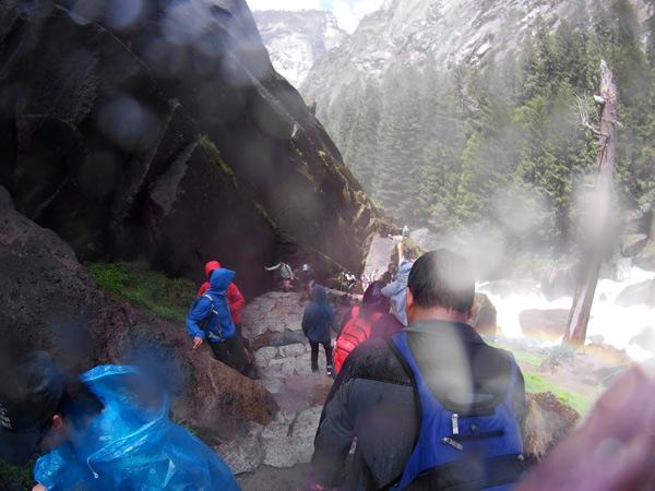 ネバダ滝~下山