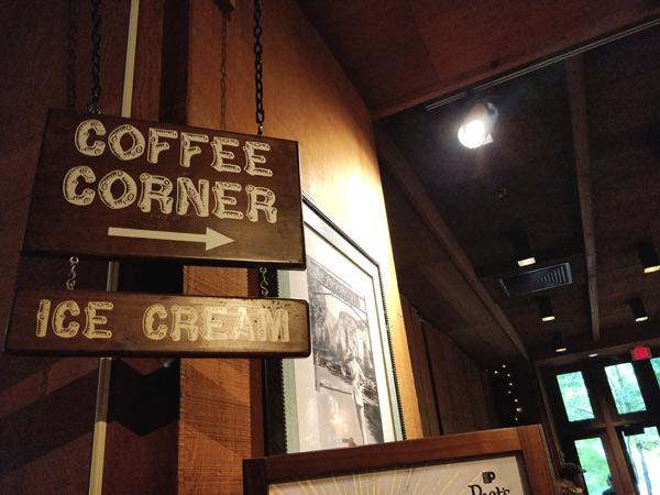 コーヒーコーナー(ピーツコーヒー & ティー)の評価
