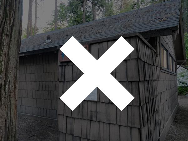 ブライダルベール滝の撮影スポットのトイレ【残念!ありません】