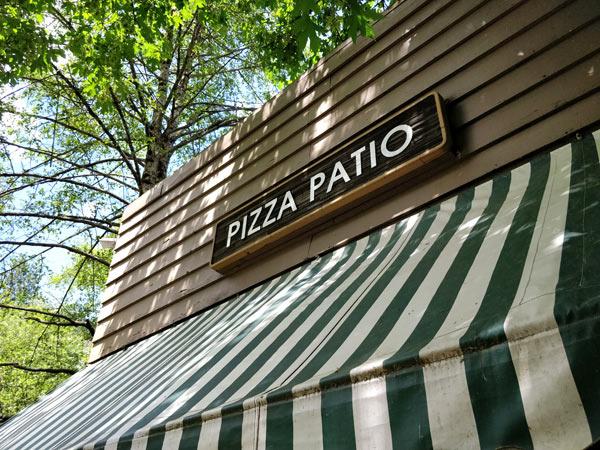 14:00~14:45 食事 ピザパティオ