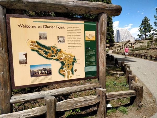 ヨセミテ国立公園 グレイシャーポイントとは