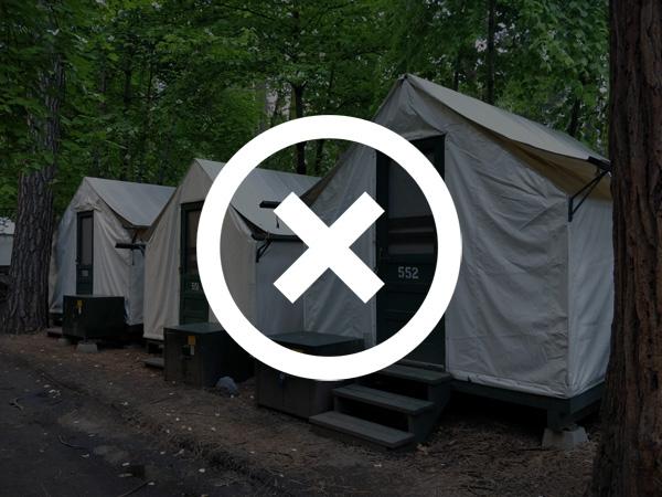 ヨセミテ国立公園 ホテルをキャンセルする方法