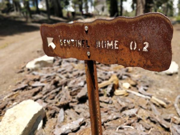 センチネルドームトレイル 体験記