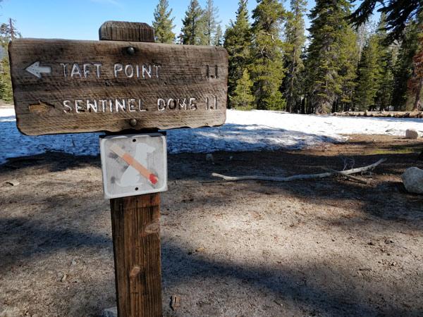 ヨセミテ国立公園 タフトポイントとは