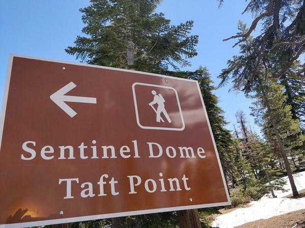 ヨセミテ国立公園 タフトポイントの場所・行き方