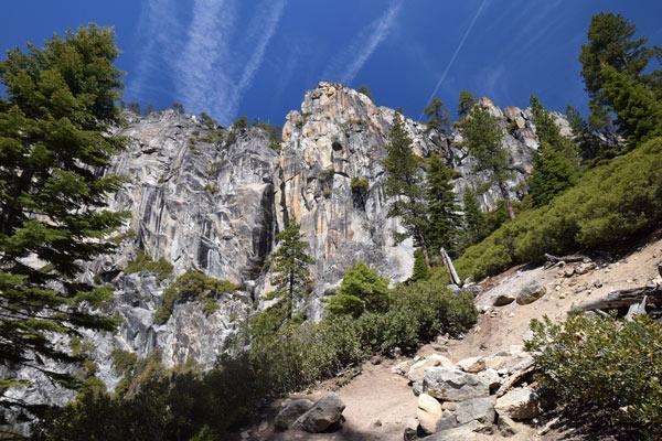 アッパーヨセミテ滝トレイル(Upper Yosemite Falls Trail)の見どころ