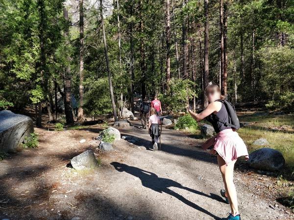 ヨセミテ国立公園を楽しめる対象年齢