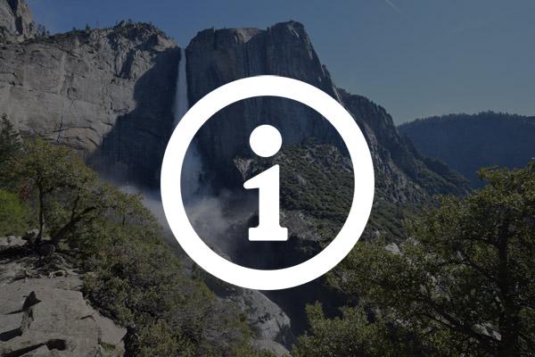アッパーヨセミテ滝トレイルの注意点
