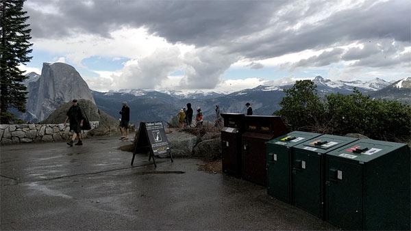 ヨセミテ国立公園 グレイシャーポイント プチトレイル体験記