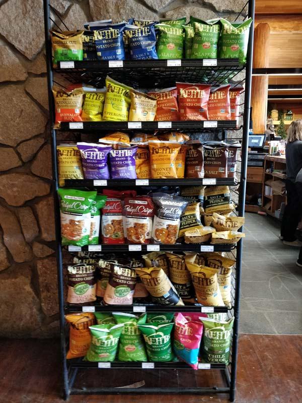 グレイシャーポイント スナックスタンド & ギフトショップ(Glacier Point Snack Stand & Gift Shop