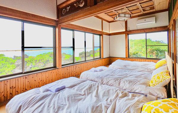 Shima Hotelのおすすめポイント1:全室パノラマオーシャンビュー