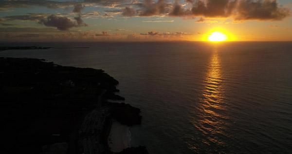 Shima Hotelから見える夕日