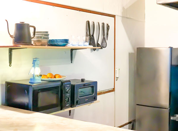 Shima Hotelの設備:キッチン