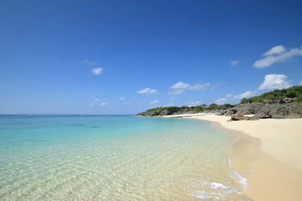 与論島 ビーチランドロッジのおすすめ1:プライベートビーチまで徒歩1分