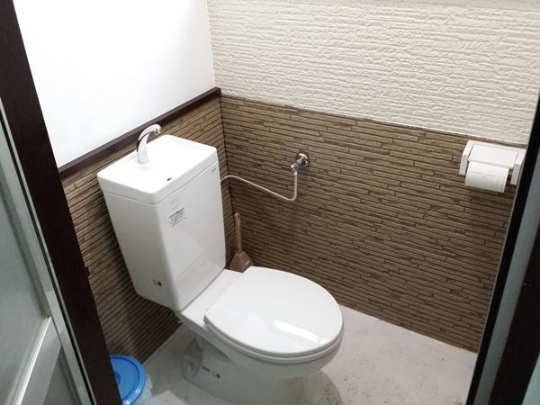 ビーチランドロッジの設備:トイレ