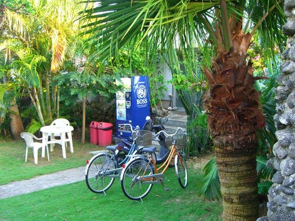 ビーチランドロッジの設備:自転車