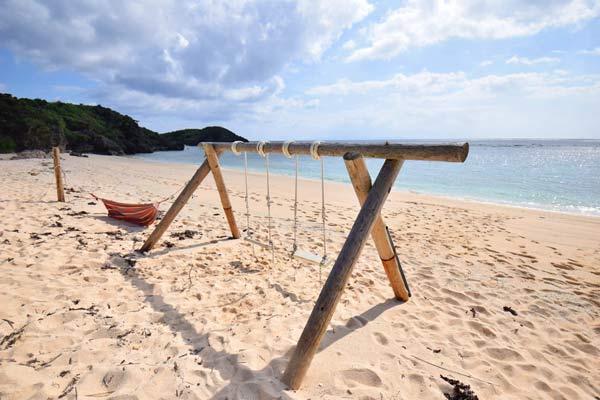 昼間のパラダイスビーチ