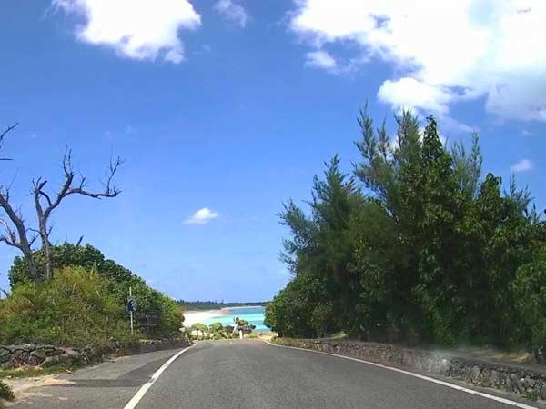 ヨロン島の風景